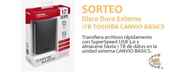 MR Informática Marbella Sorteo Disco Duro Toshiba
