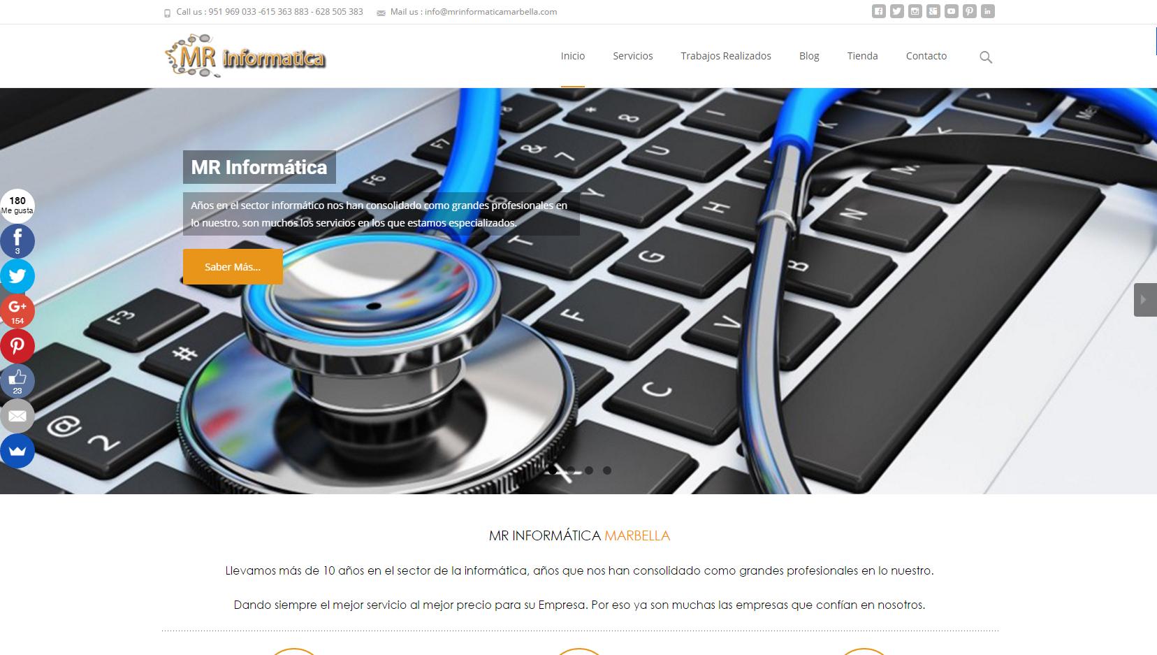 Web_MRInformatica_Marbella WEB Desing